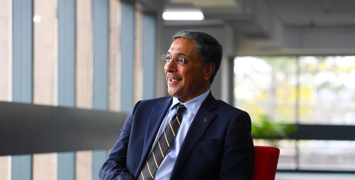 Deep Saini, President & Vice-Chancellor of Dalhousie University
