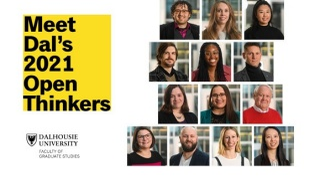 The 2021 cohort of Dalhousie's OpenThink Initiative