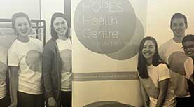 HOPES Health Centre founders
