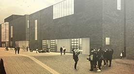 Rendering of the IDEA project buildings