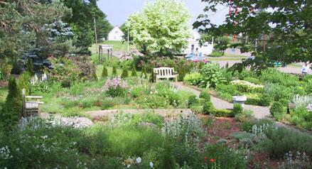 Herb Garden Agricultural Campus Dalhousie University