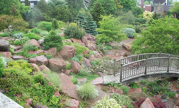 The Rock Garden is a gift to the Agricultural Campus from the Friends of  the Garden. The Friends is a dedicated group of approximately 25 volunteer  ...