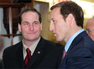 Michael Stokesbury and Peter MacKay