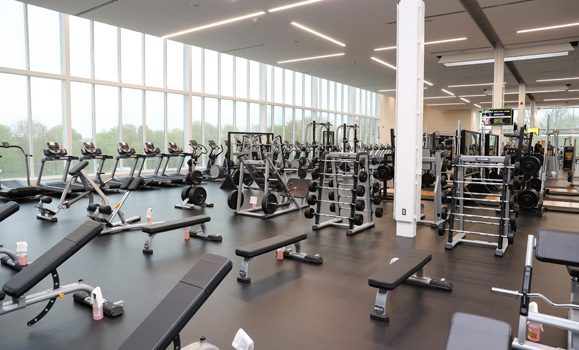 A bright future for campus health and wellness inside the