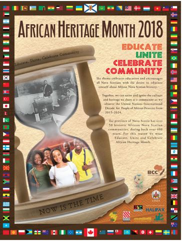 African Heritage Month Poster