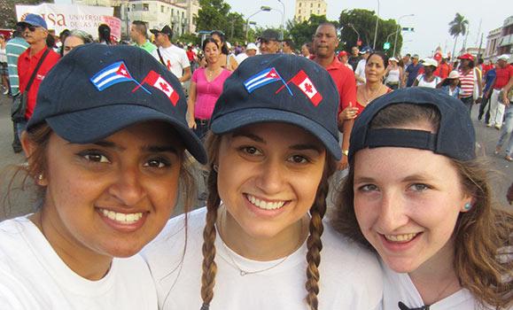 Dalhousie Students in Cuba