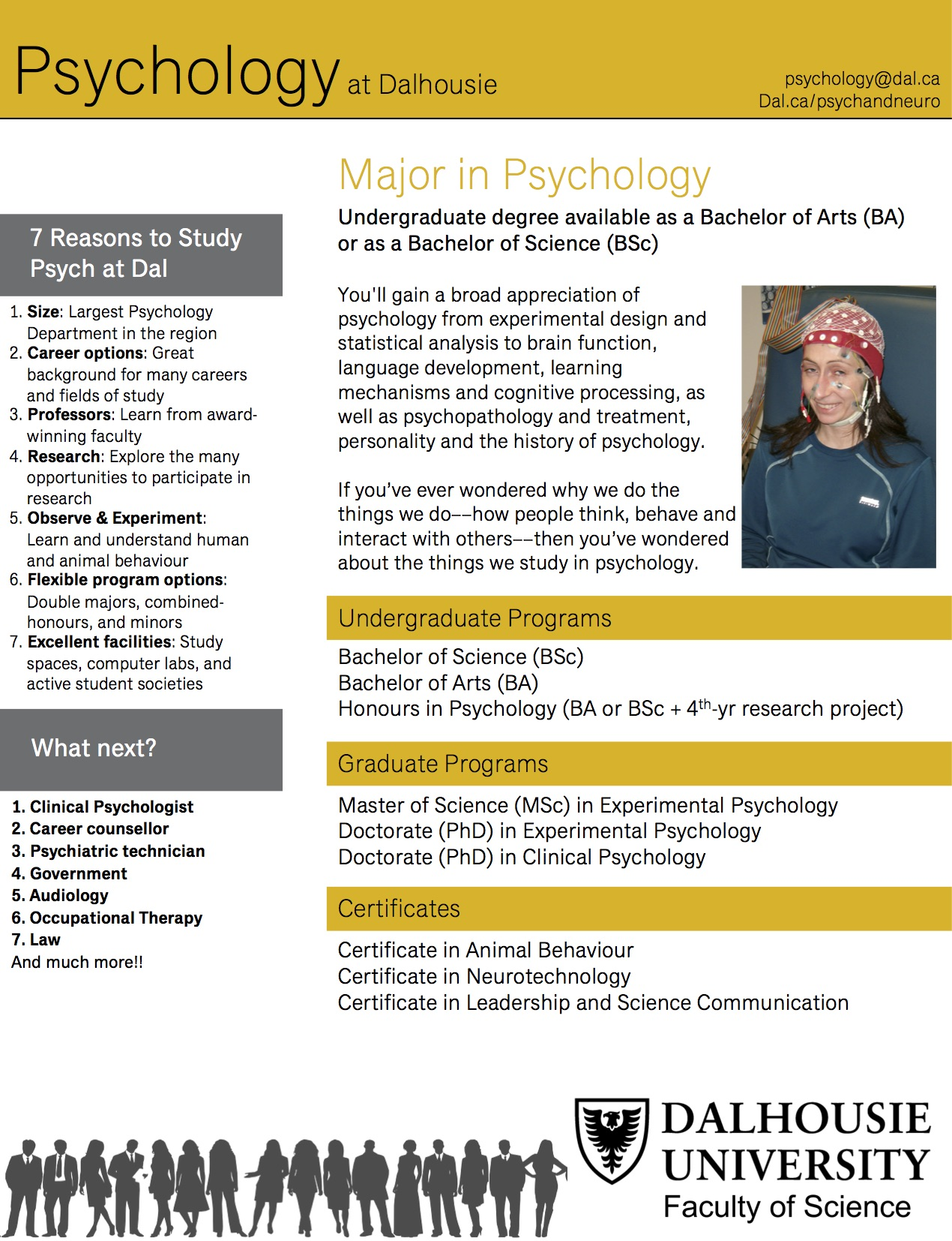 Programs at a Glance - Department of Psychology and Neuroscience ...