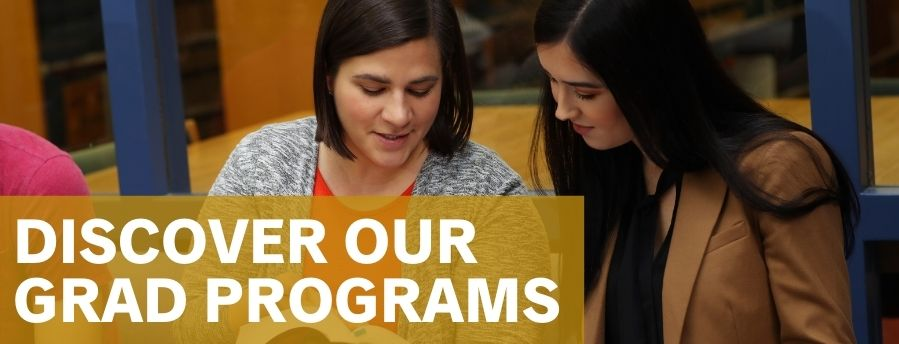 Discover our grad programs