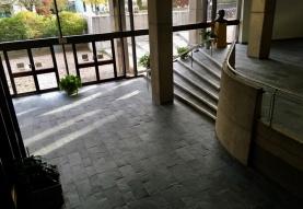 Sculpture Court from third floor lobby