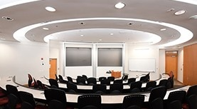 Kenneth C. Rowe Management Building presentation room