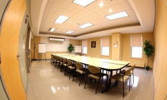 Risley Hall meeting room