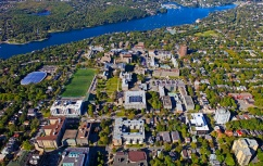 Aerial view of Halifax campus