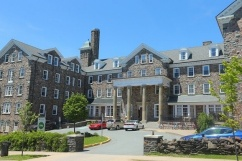 Exterior view of Shirreff Hall