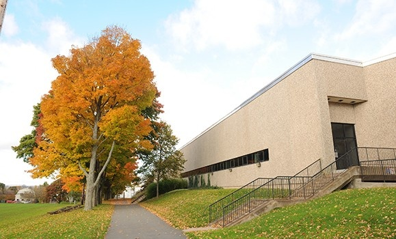 Langille Athletic Centre in the autumn