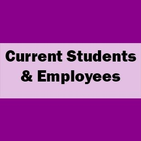 link to Current Students and Employees information