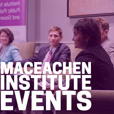 MacEachen Institute Events