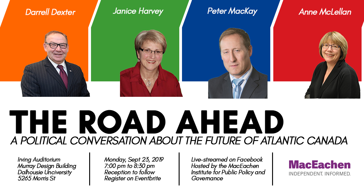 The Road Ahead: A Political Conversation about the Future of Atlantic Canada