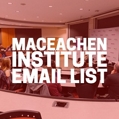 MacEachen Institute Email Newsletter