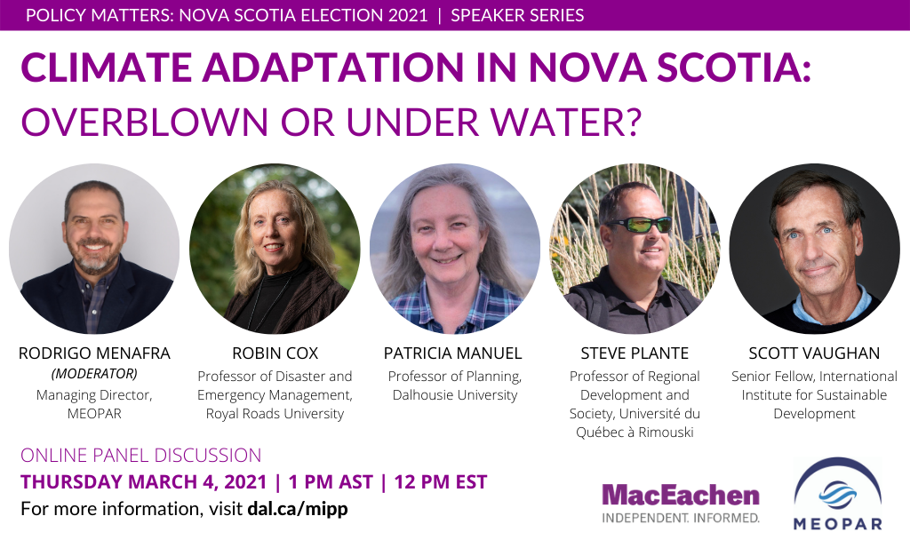 Climate Adaptation in Nova Scotia: Overblown or Under Water?