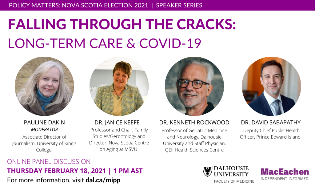 Falling Through the Cracks: Long-Term Care and COVID-19