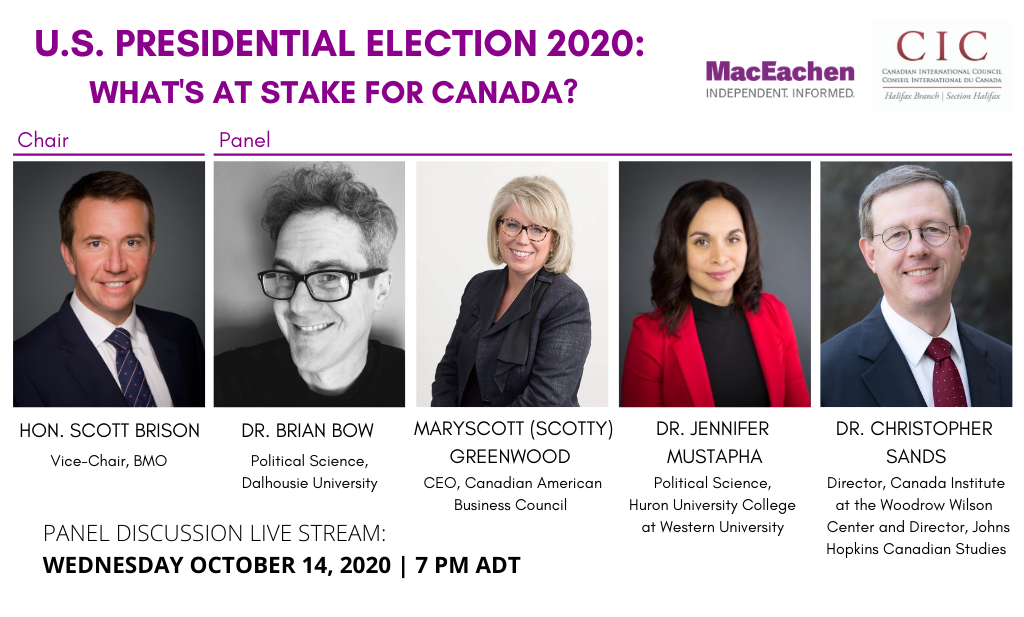 U.S. Presidential Election 2020: What's at Stake for Canada?