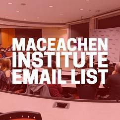 MacEachen Institute Email Newsletter