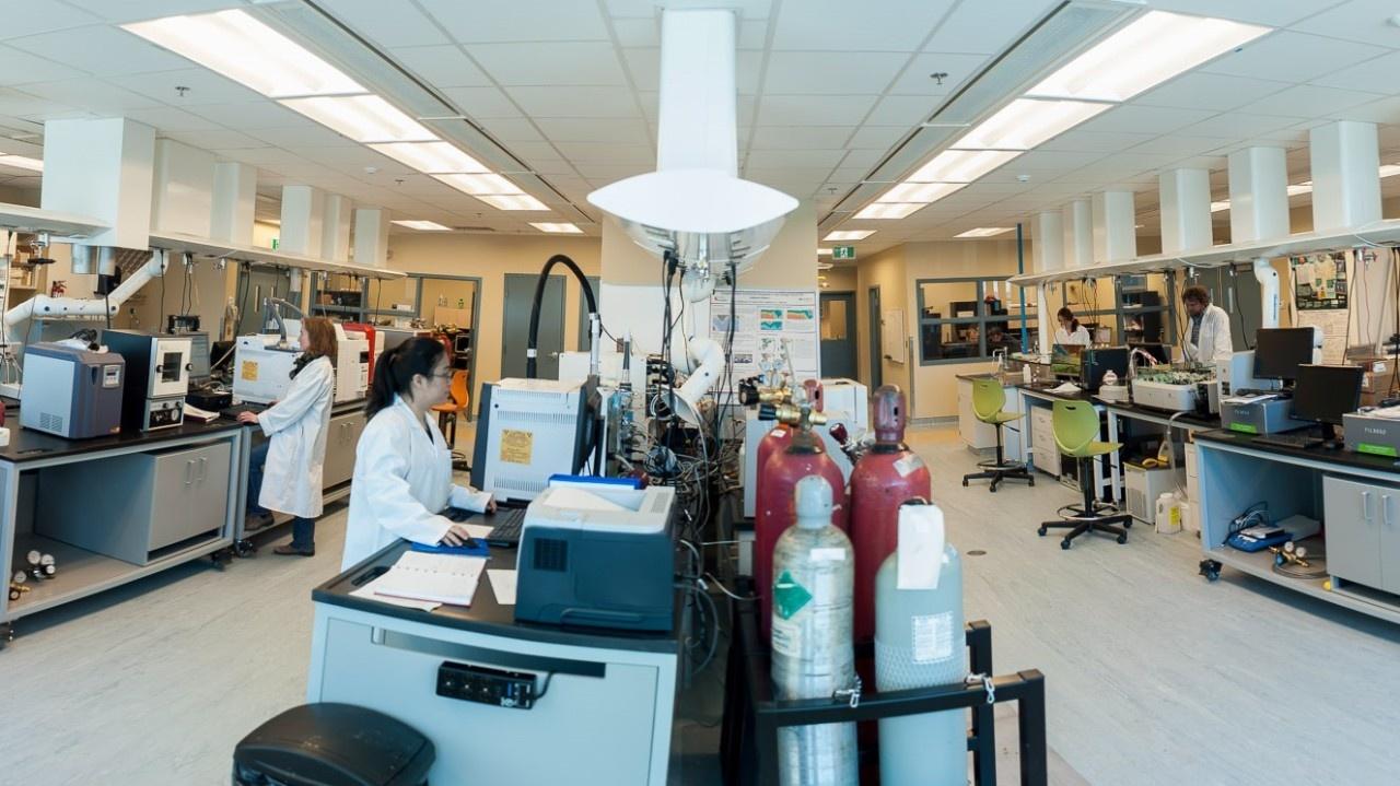 CERC.OCEAN Chemistry Laboratory