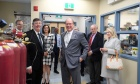 HSH Prince Albert II of Monaco Tours the CERC.OCEAN Labratory