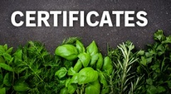 Certificates box