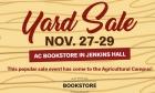 AC Bookstore Yardsale