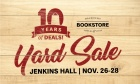 Dal Bookstore Yard Sale