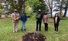 Tree dedication celebrates 60 years of Science Atlantic