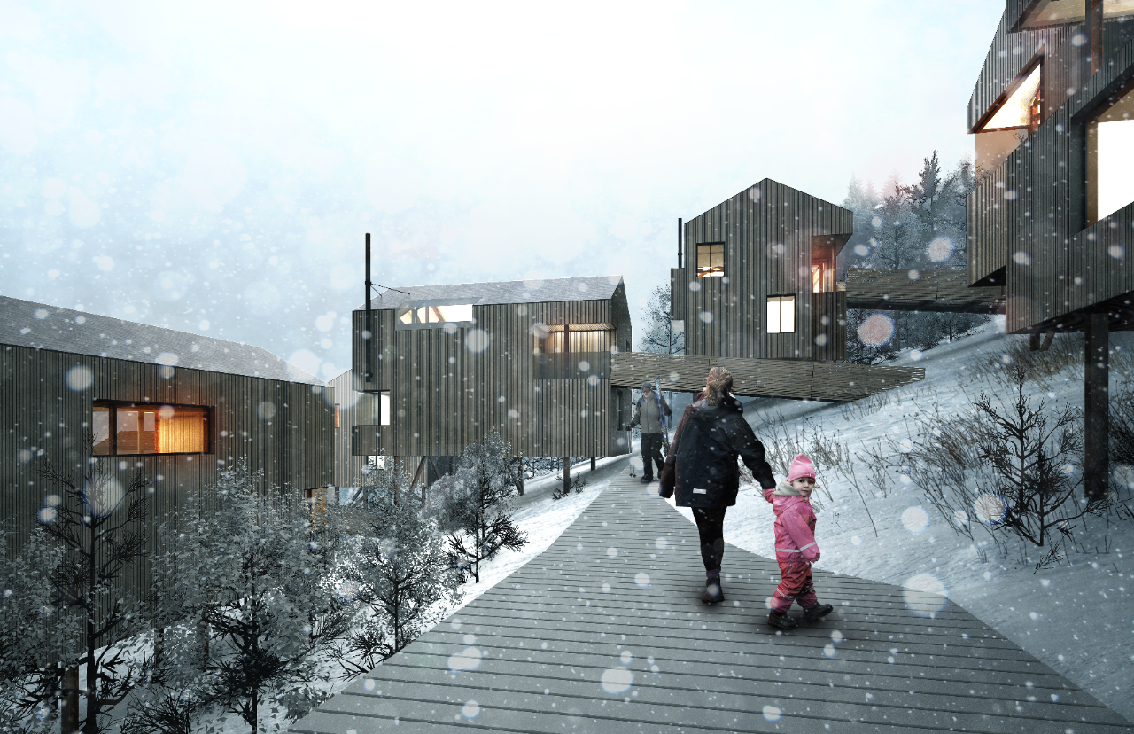 Summit Powder Mountain rendering