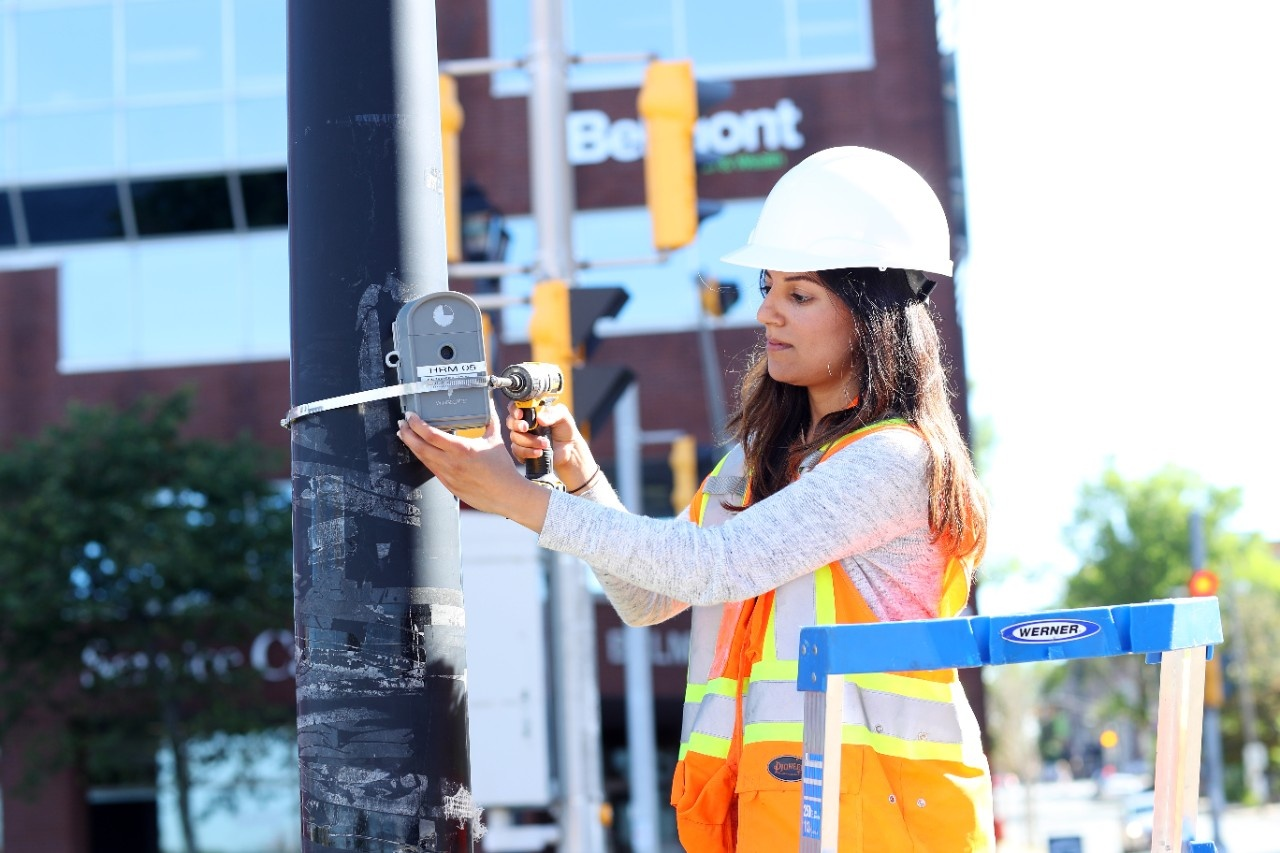 Areej Ashraf: Internship, Transportation Planning at Halifax Regional Municipality