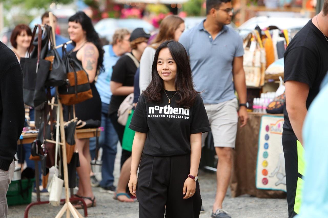 Jiajing: Internship, North End Business Association