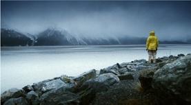 """Still from John Akomfrah's film """"The Nine Muses"""""""