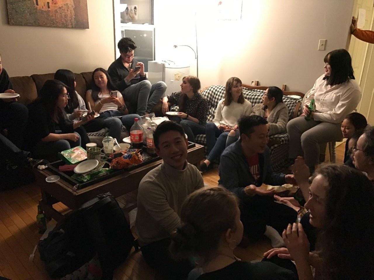 Dumpling party 2020 (photo 7)