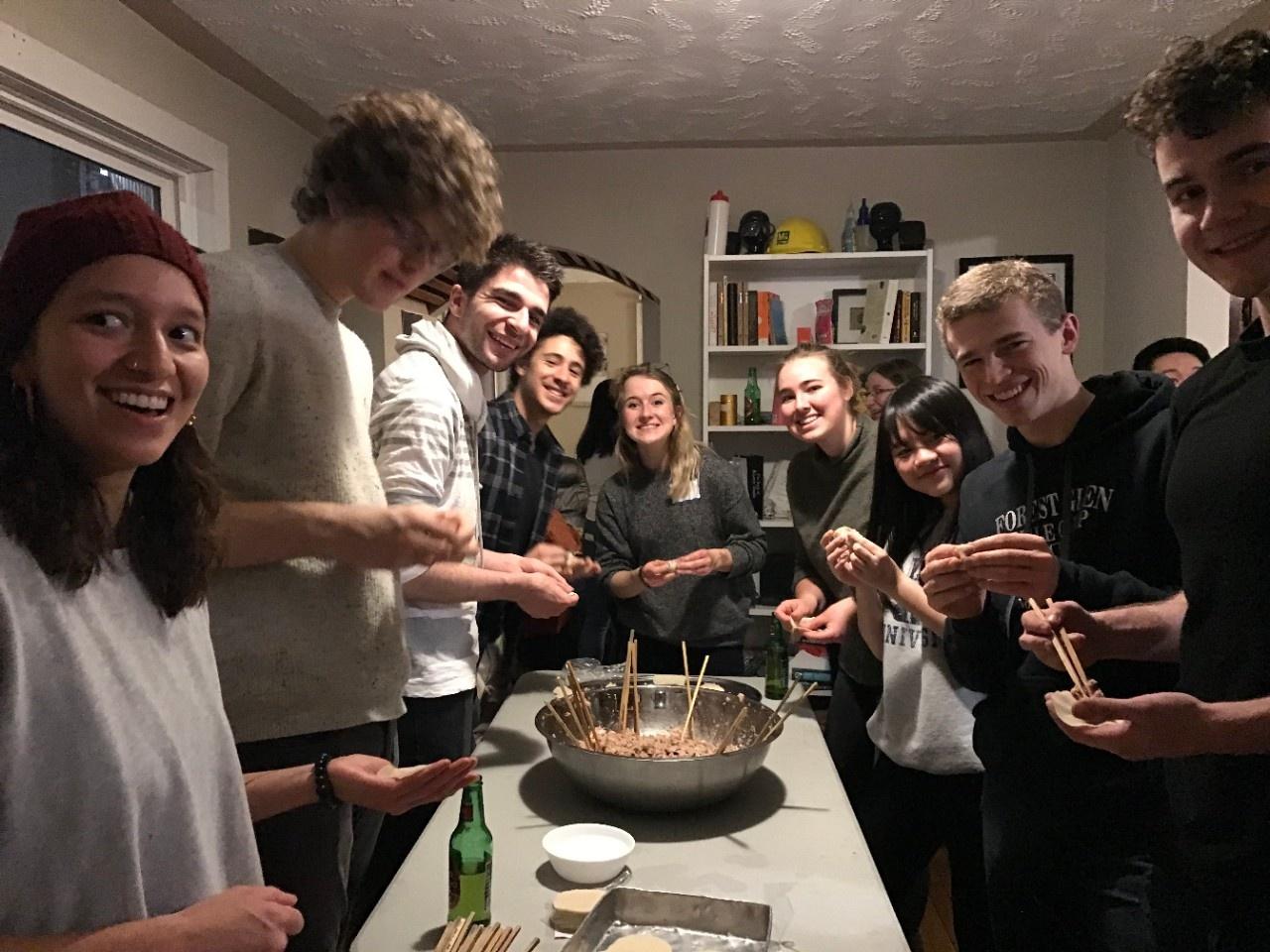 Dumpling party 2020 (photo 1)