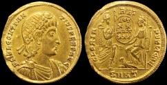 3.5.iii Constantius II AU Solidus EF Cohen #108