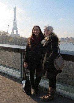 Sam and Shannon in Paris