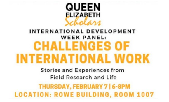 Panel: Challenges in International Work
