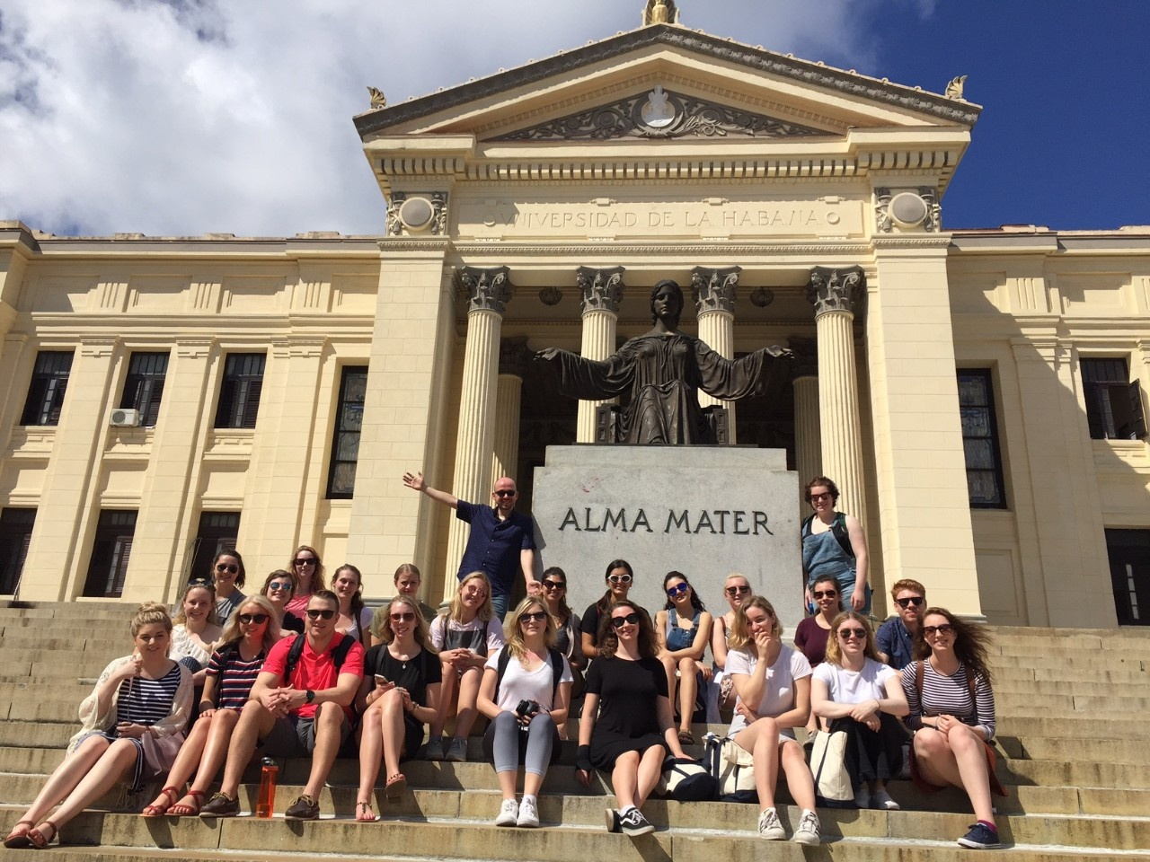 Dal students at the University of Havana