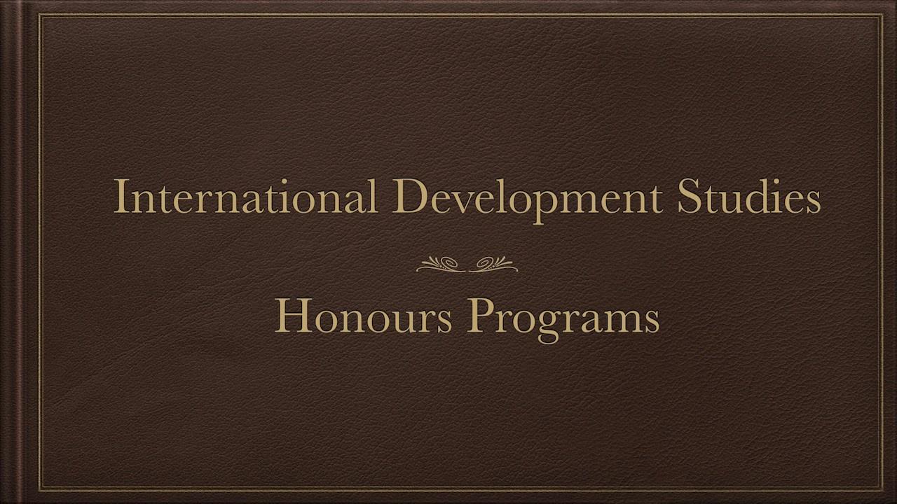 IDS-Honours