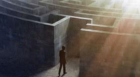 Light in maze