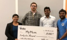 $50,000 investment for student and alumni founded start‑up