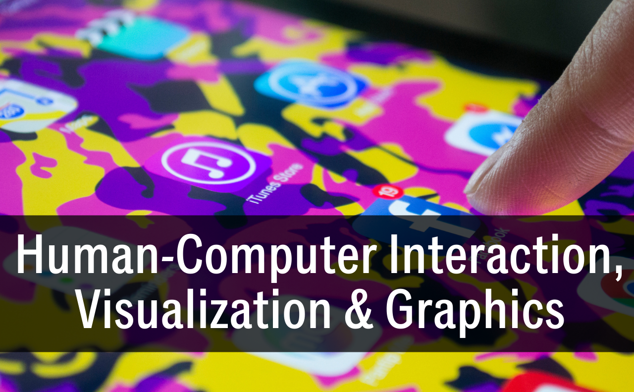 """""""Human-Computer Interaction, Visualization and Graphics button"""""""