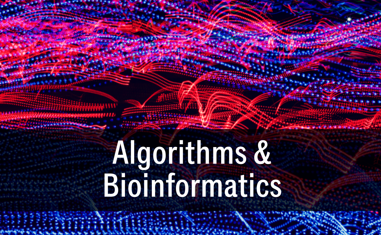 """Algorithms and Bioinformatics button"""