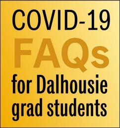 COVID-19 FAQ social graphics (Dal colours)