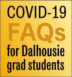 COVID-19 FAQ social graphics (Dal colours)
