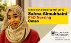 OUR GLOBAL COMMUNITY: MEET SALMA ALMUKHAINI